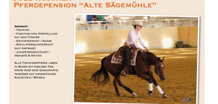 "Jule Rossner – Pferdepension ""Alte Sägemühle – PLZ 73035"