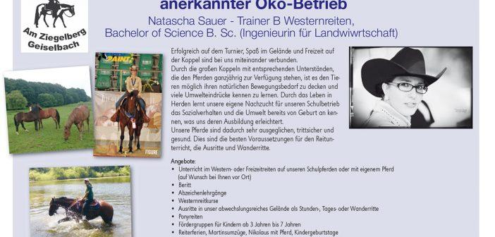 Western- und Wanderreitstall Sauer – PLZ 63826