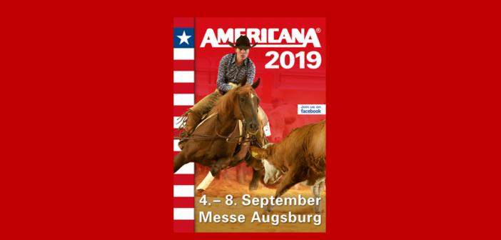 Die AMERICANA 2019 geht an den Start – und erstmals wirbt eine Reiterin für das Top-Event der Westernreiter