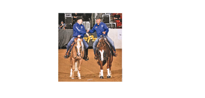 PAINTS SIEGREICH BEI RUN FOR A MILLION REINING