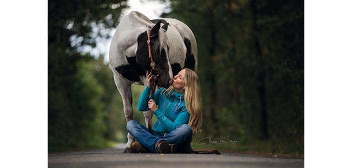 Wahrnehmung auf dem Pferd erlernen … mit dem Handy?